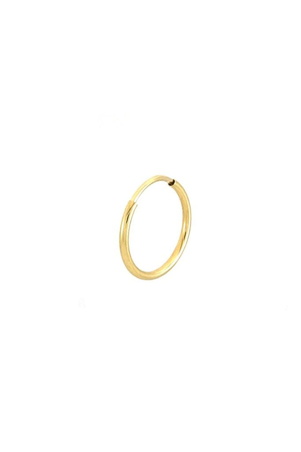 14k Cyndi Single Hoop