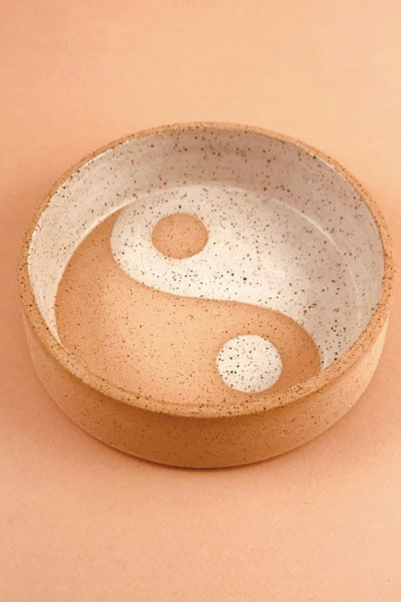 Speckled Yin Yang Bowl