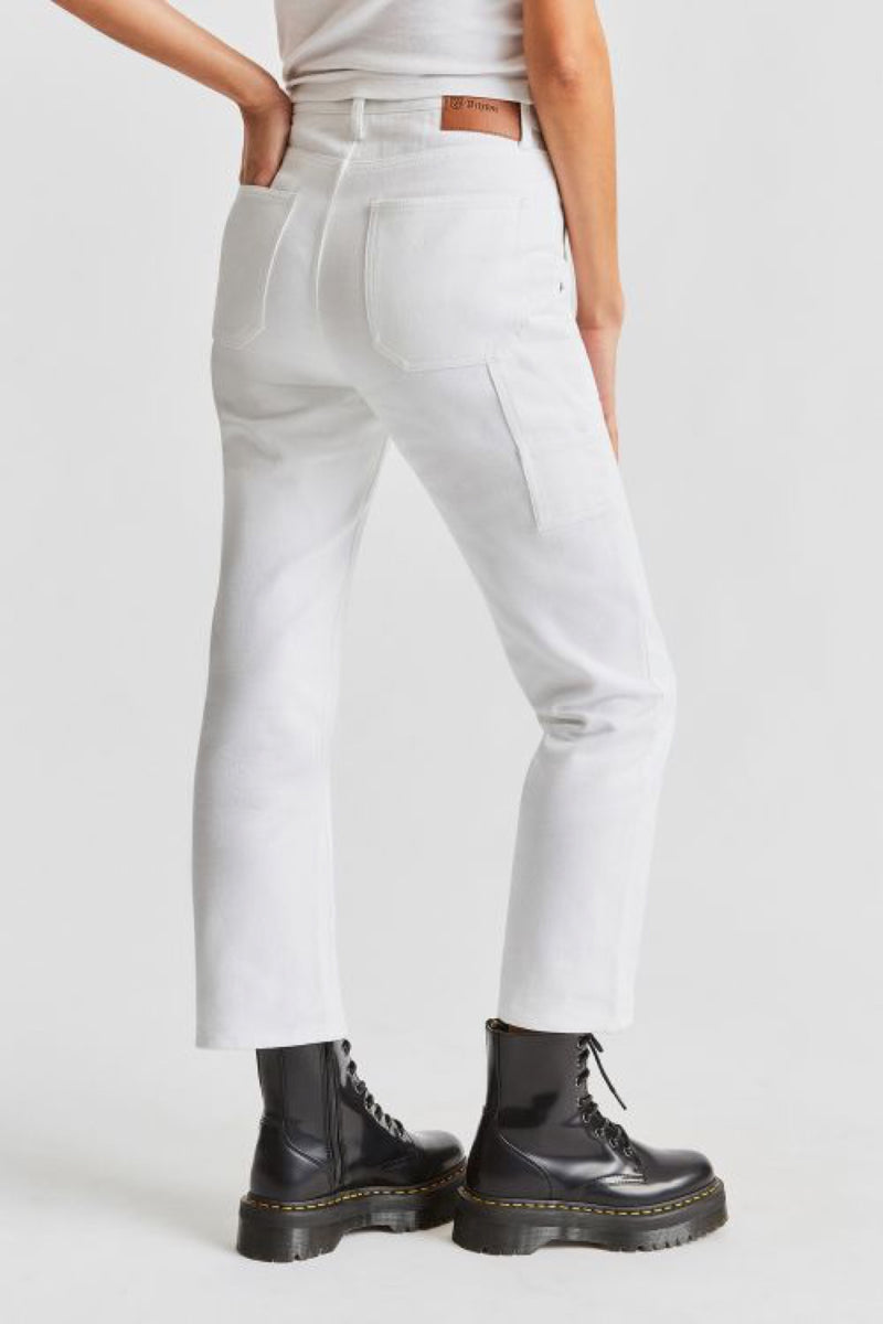 White Janie Carpenter Pant