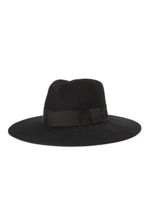 Black Felt Joanna Hat