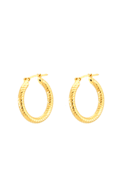 Gold Eve Hoops