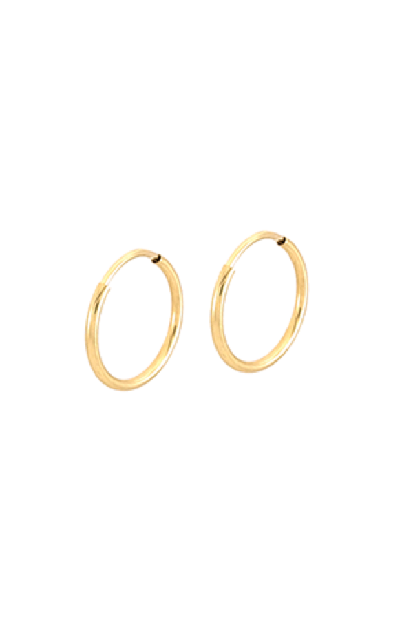 Gold Cyndi II Hoops