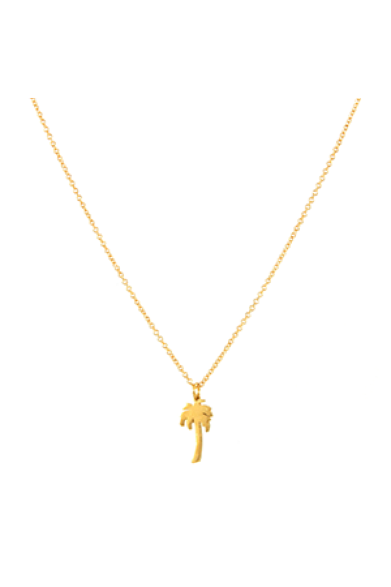 Gold Cali Necklace