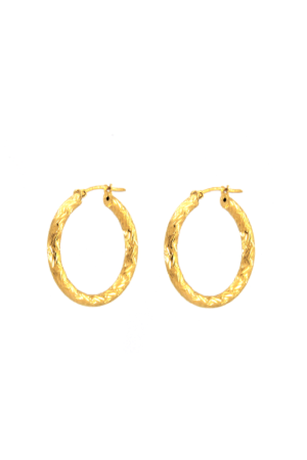 Gold Missy Hoops