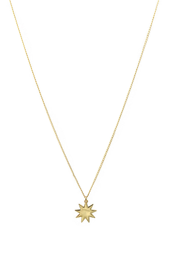 Gold Nova Necklace