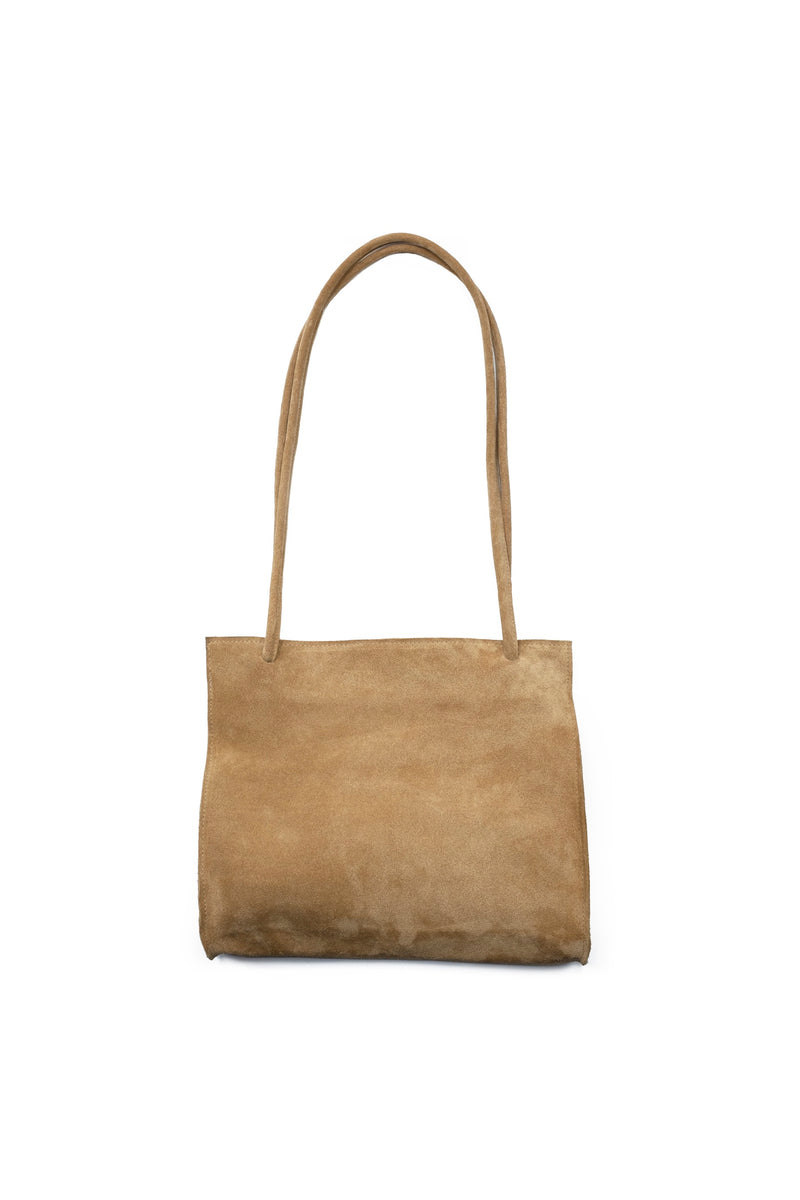 Sand Suede Lady Bag