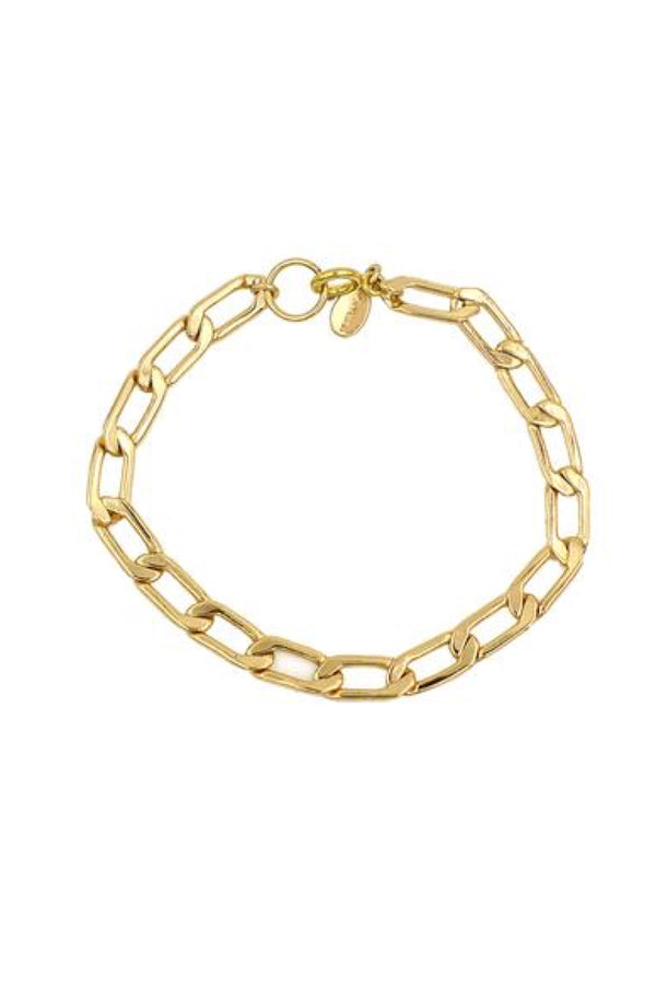 Gold Main Chain Bracelet