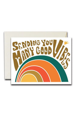Many Good Vibes Card