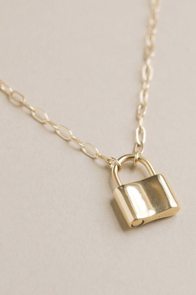 Gold Holmes Necklace