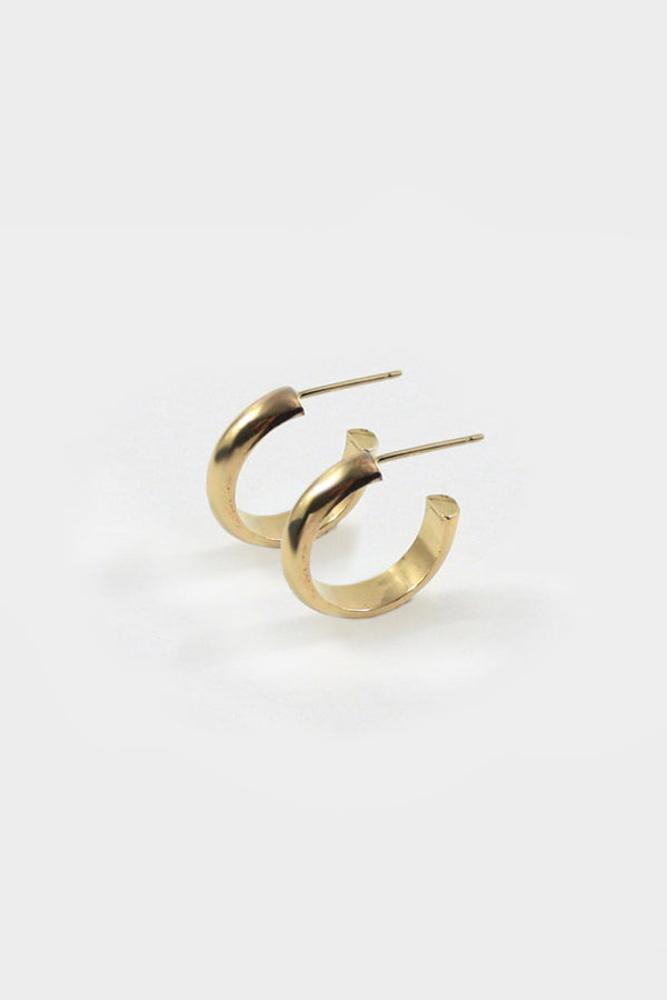 Gold Jane Hoops
