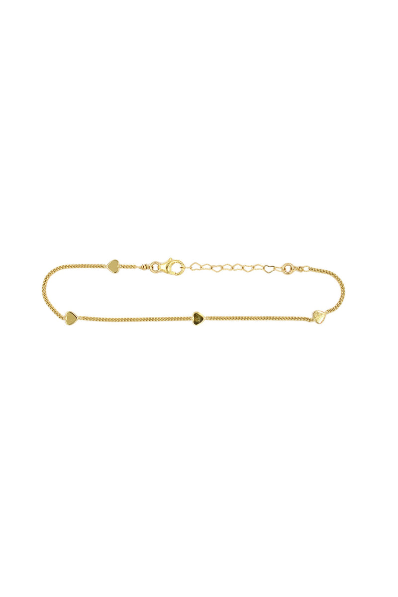Gold Young At Heart Bracelet
