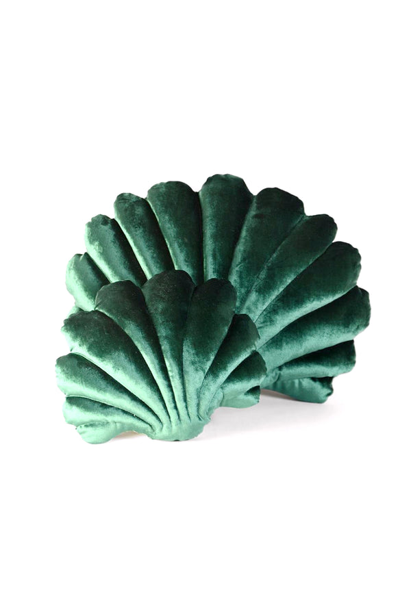 Emerald Shell Pillow