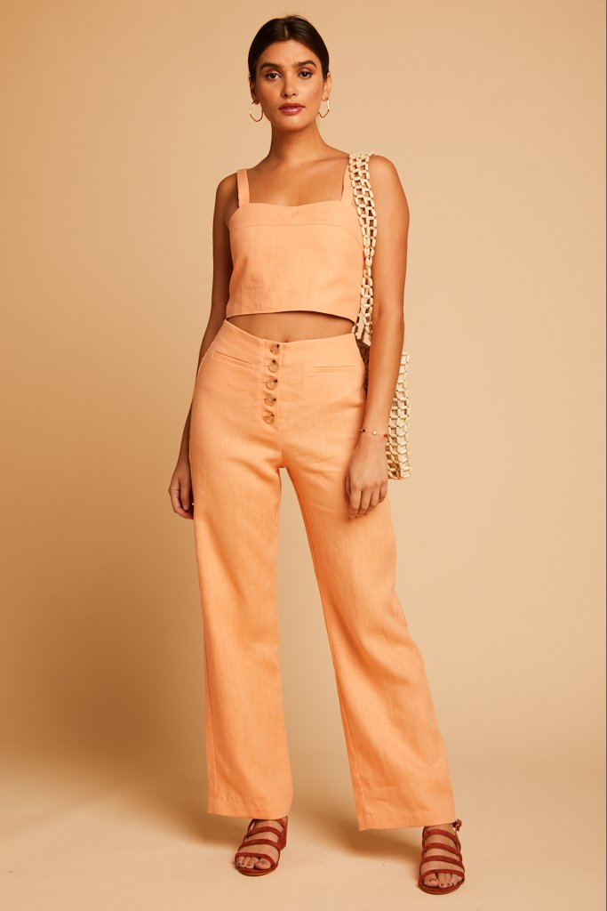 Light Peach Adeline Pant