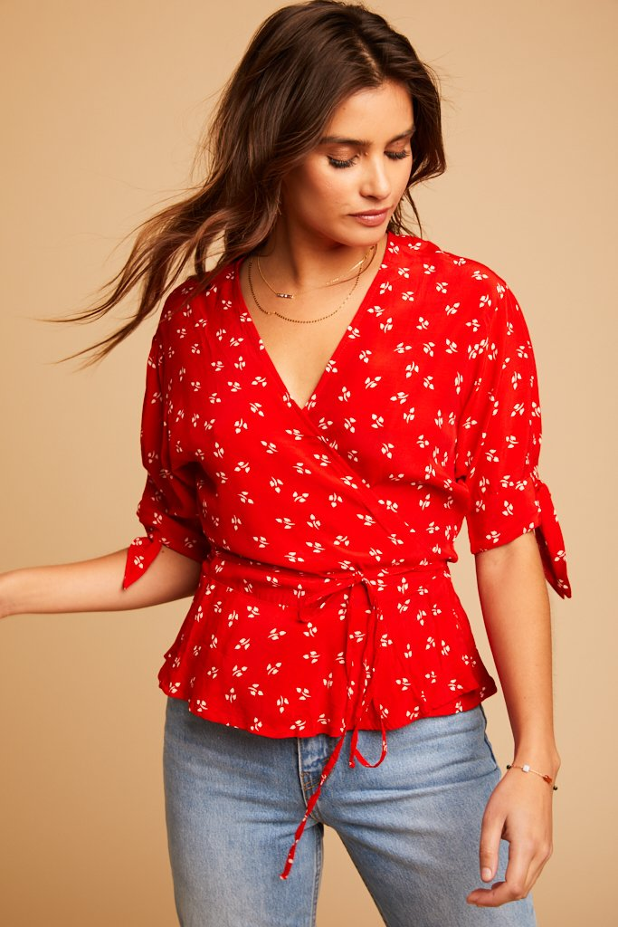 Cherry Jeanne Lucy Top