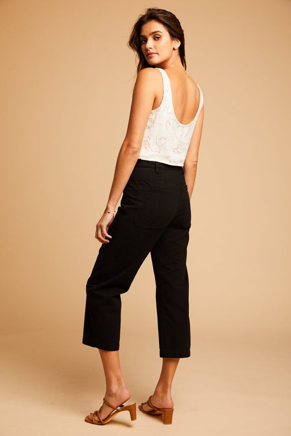 Tar Brushed Stella Trousers