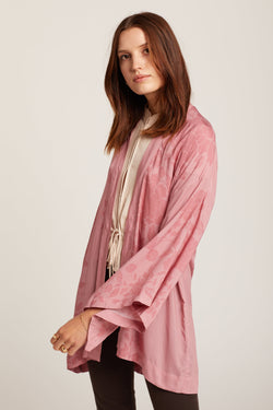 Pink Geisha Willow Robe