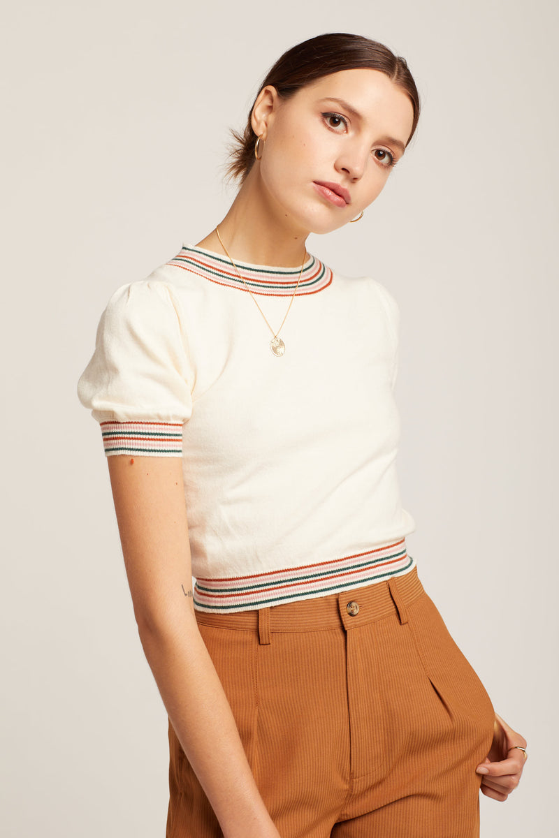 Striped Ferris Top