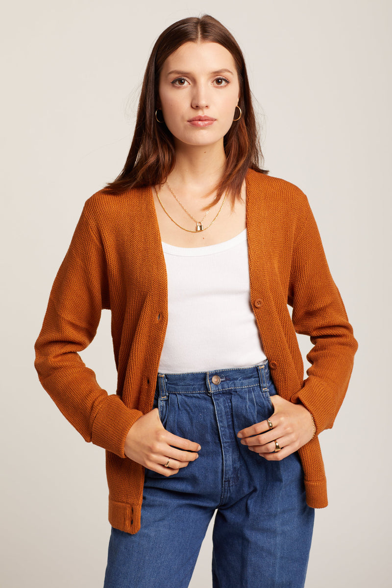 Desert Oxford Cardigan