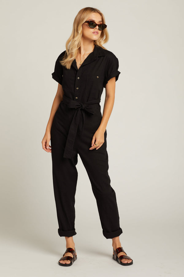 Black Horizon Jumpsuit
