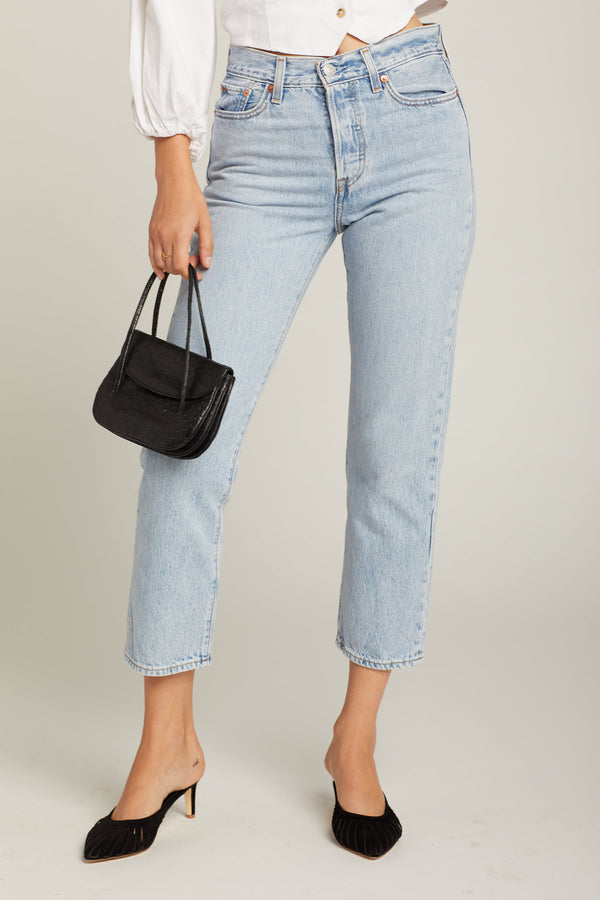 Montgomery Baked Wedgie Straight Jeans