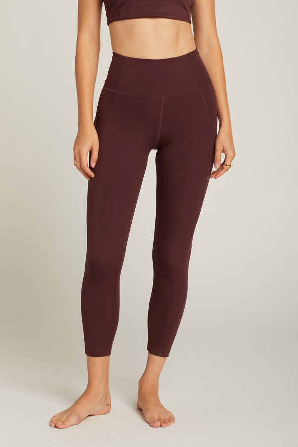 Cocoa Compressive High-Rise Legging