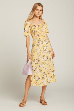 Pomeline Floral Majorelle Dress