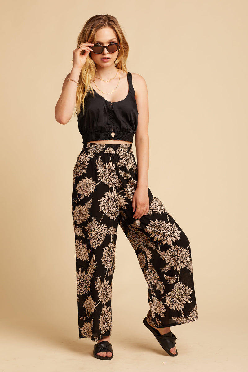 Black Dahlia Linda Trousers