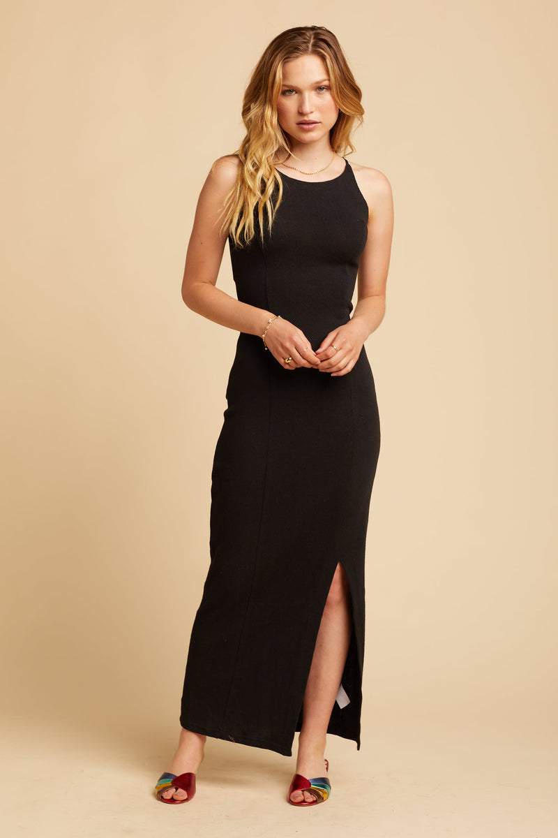 Black Grace Maxi Dress