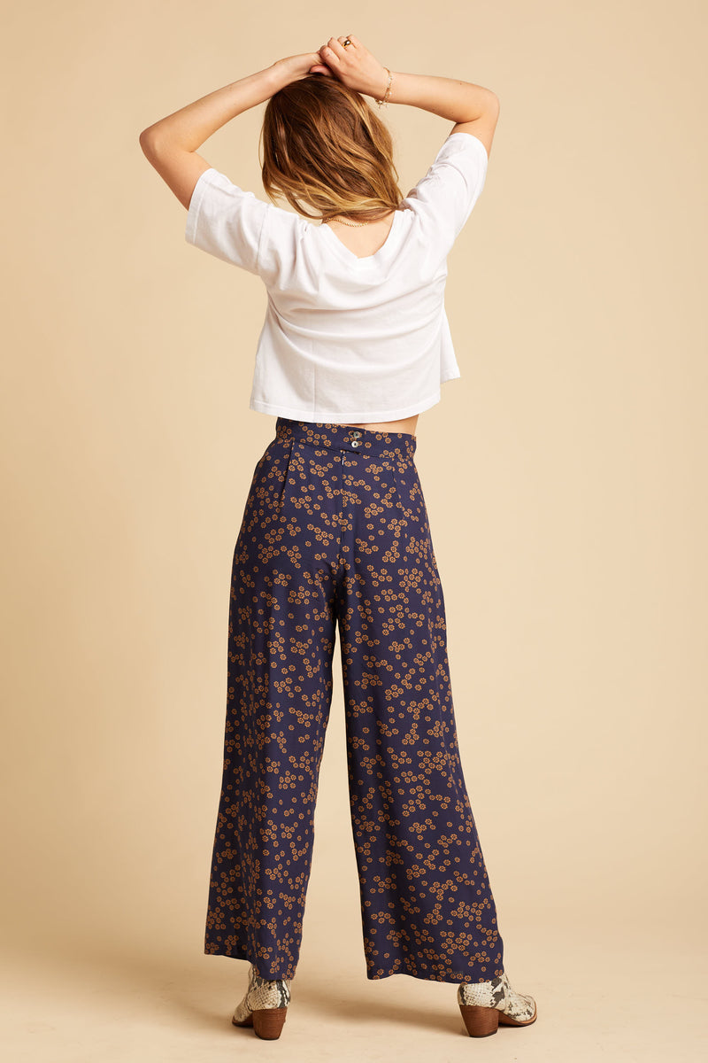 Midnight Daisies Billie Trousers