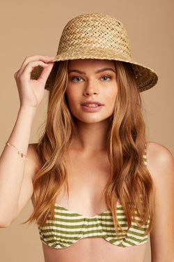 Straw Kennedy Hat