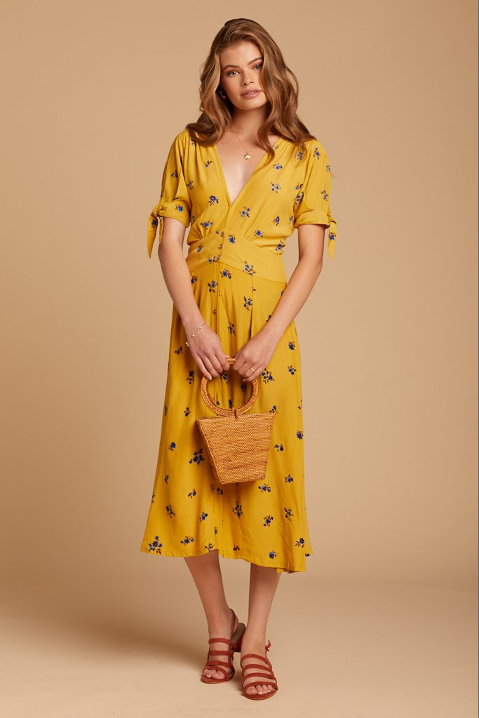 Dolores Floral Billie Dress