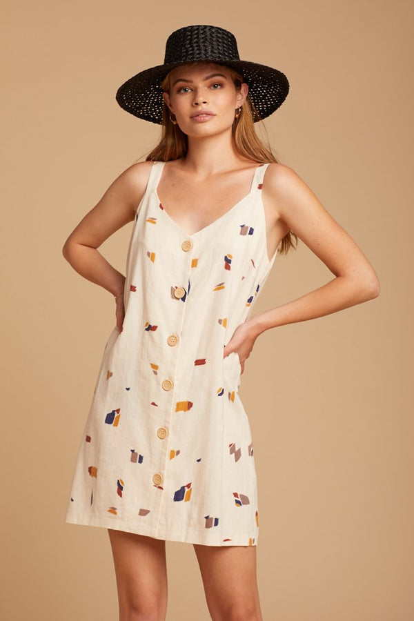 Cream Royal Rust Dress