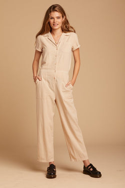 collar jumpsuit