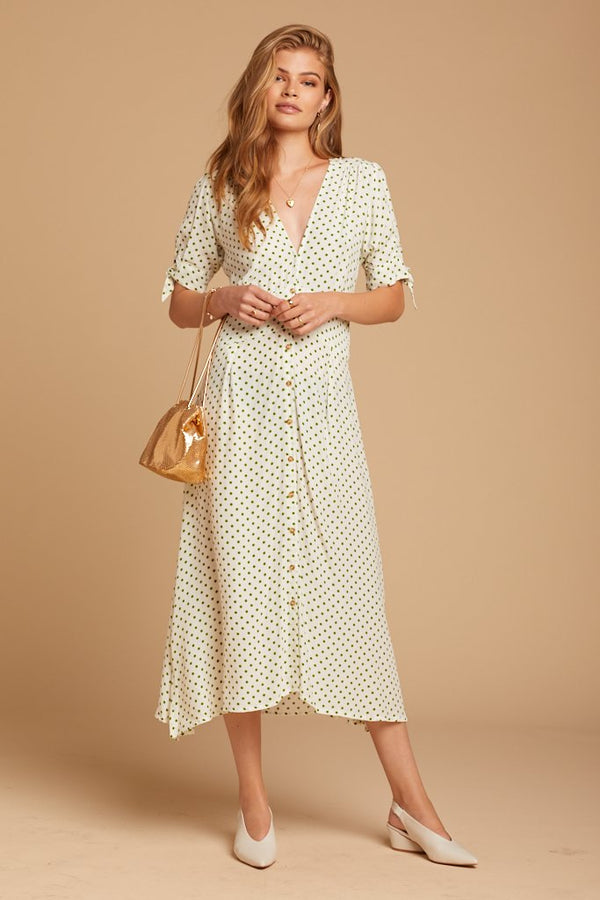 Lula Dot Billie Midi Dress