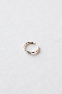 Silver Mini Signet Ring