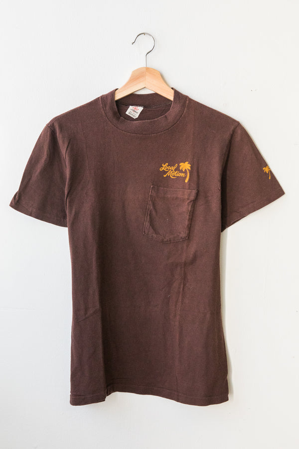 Brown Local Motion Tee