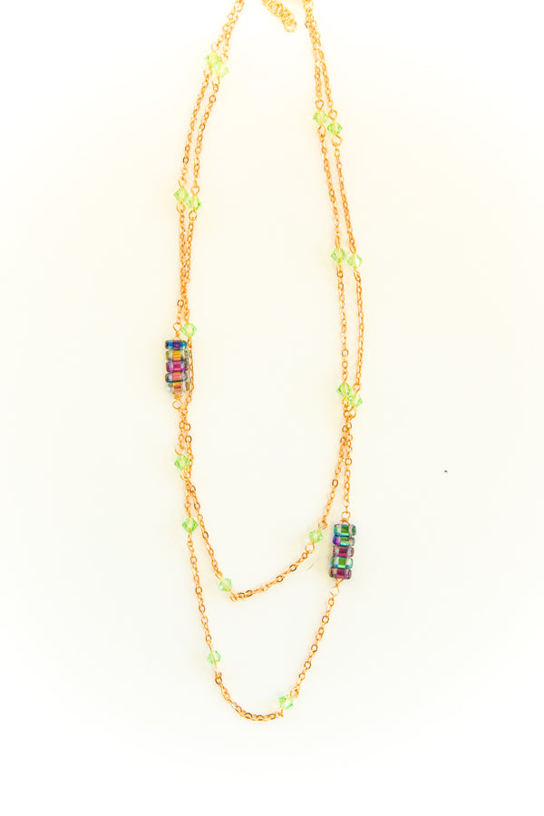 Light Green Alfredo Necklace