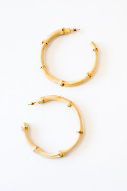 Bamboo Maria Earrings
