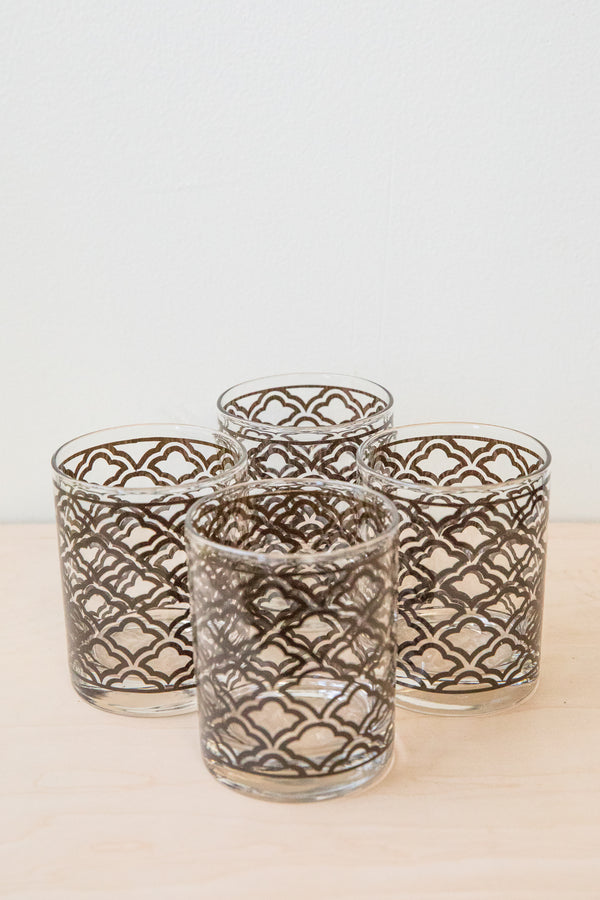 Art Deco Glass Set
