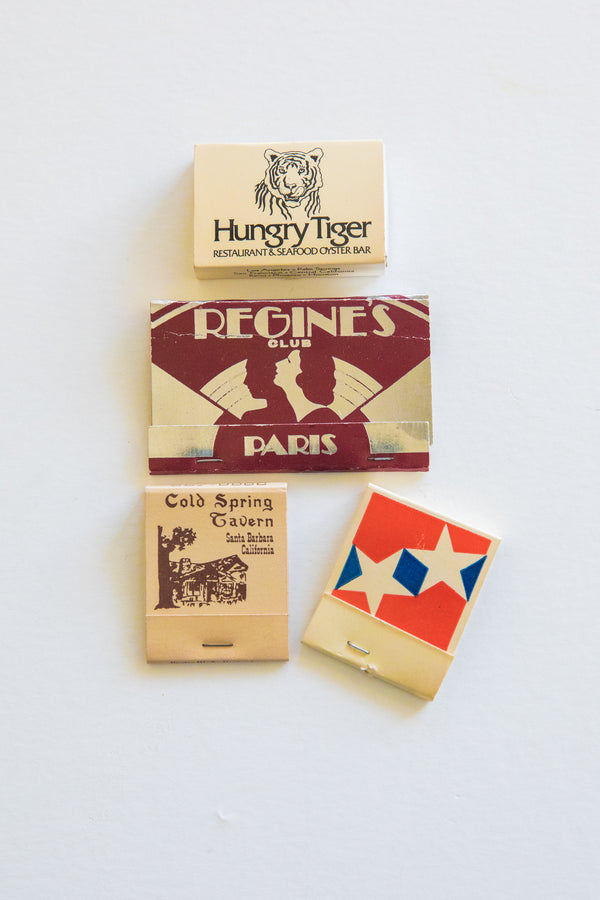 Assorted Vintage Matchbook Set