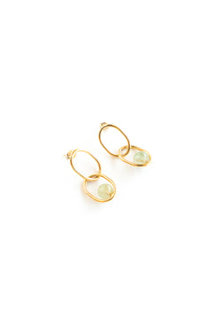 Gold Michelle Earrings