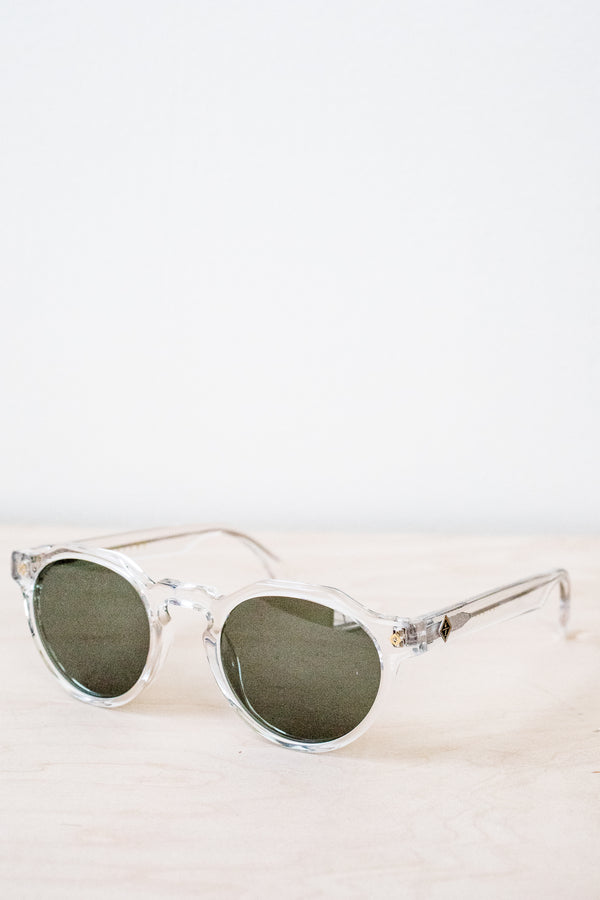Clear Fontana Sunglasses