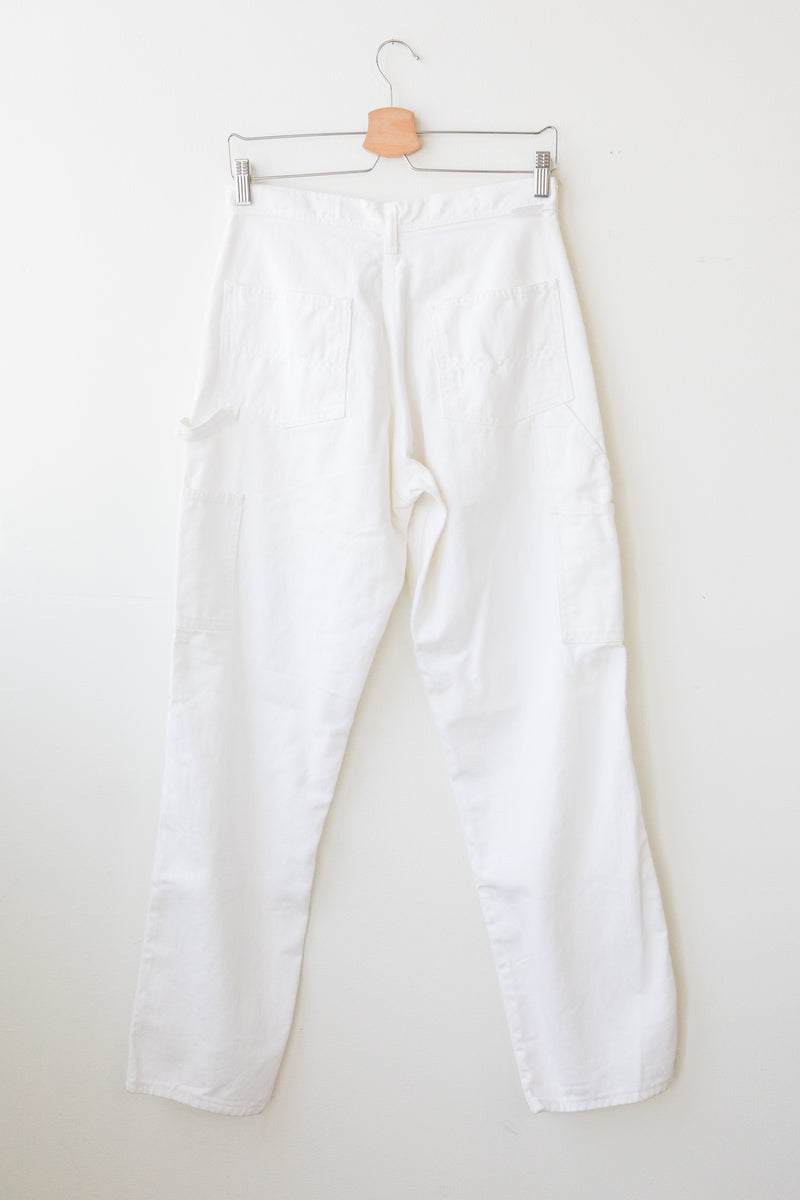Vintage White Painter Pants