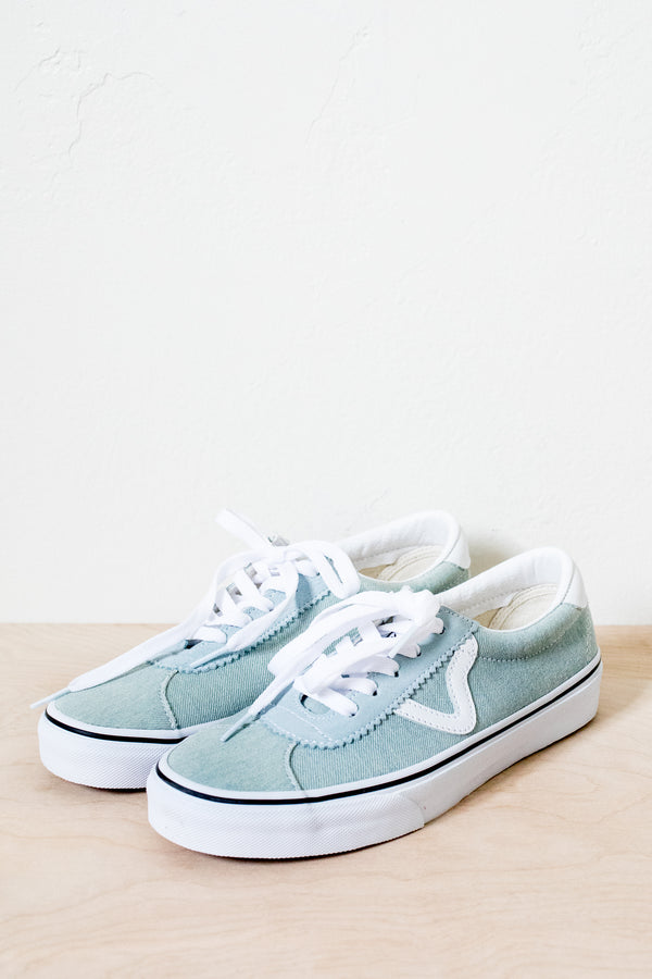 Washed Denim Vans Sport
