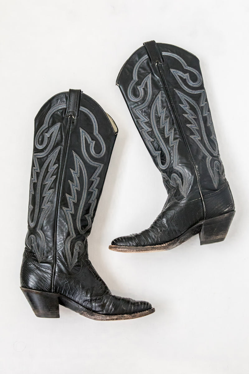 Black Yucca Valley Boot