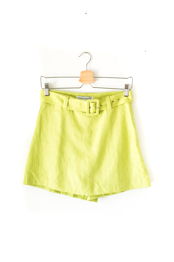 Avocado Green Celia Skort