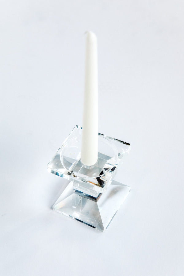 Bixby Crystal Candle Holder