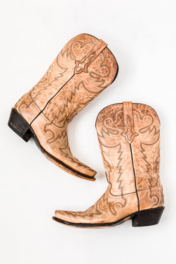 Tan Dusty Fields Boot