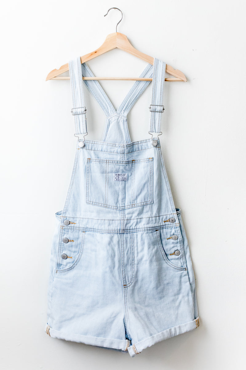 Caught Napping Vintage Shortalls