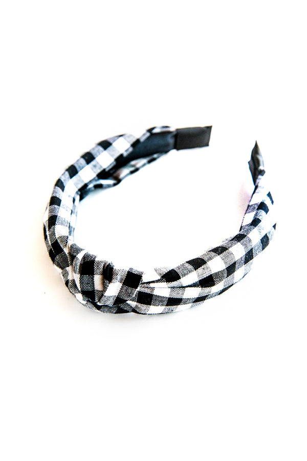 Gingham Pop Leigh Headband